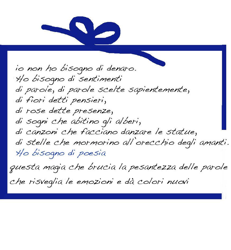 Conosciuto Per il nuovo anno un regalo ……..una poesia ! AF26